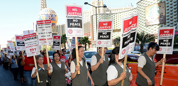 Las Vegas Workers Strike Deals With MGM, Caesars