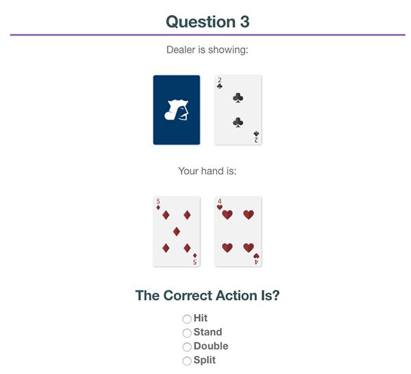 Blackjack Info Launches Blackjack Quiz