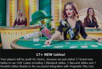 Mr Green Adds Pragmatic Play Blackjack