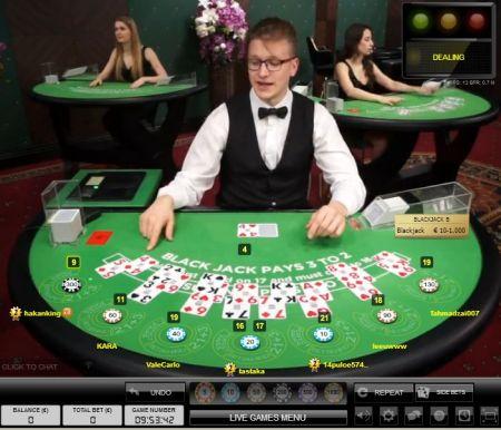 redbet live online blackjack