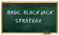Blackjack Strategy Chalkboard