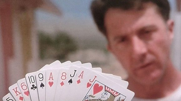 Rain Man card counting